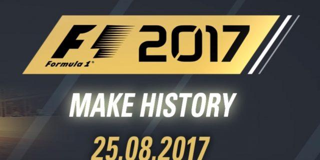 F1 2017 Gameplay Trailer [UK] mit Max Verstappen
