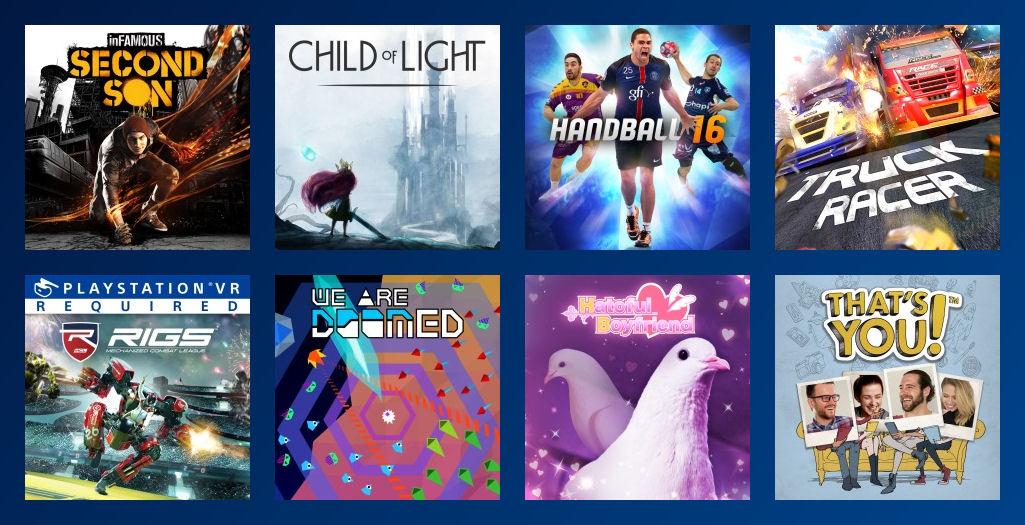 PS Plus Gratis Spiele September 2017