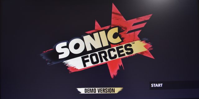 Sonic Forces - Gamescom Demo #gc2017
