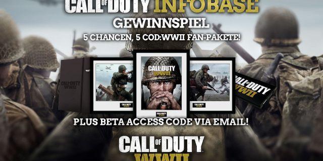 Call of Duty: WWII Fan-Paket Gewinnspiel zur Gamescom 2017!