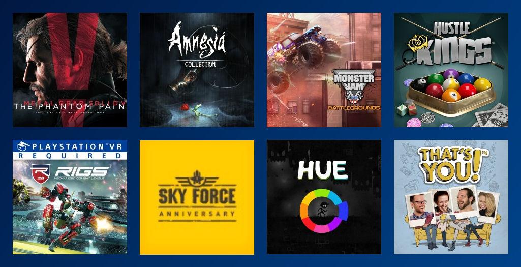 PS Plus Gratis Spiele Oktober 2017