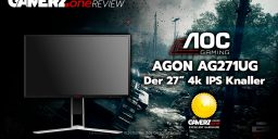 Der AOC Agon AG271UG im GAMERZ.one Tech-Check!