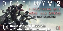 Destiny 2 - PC Release Livestream auf Twitch.tv