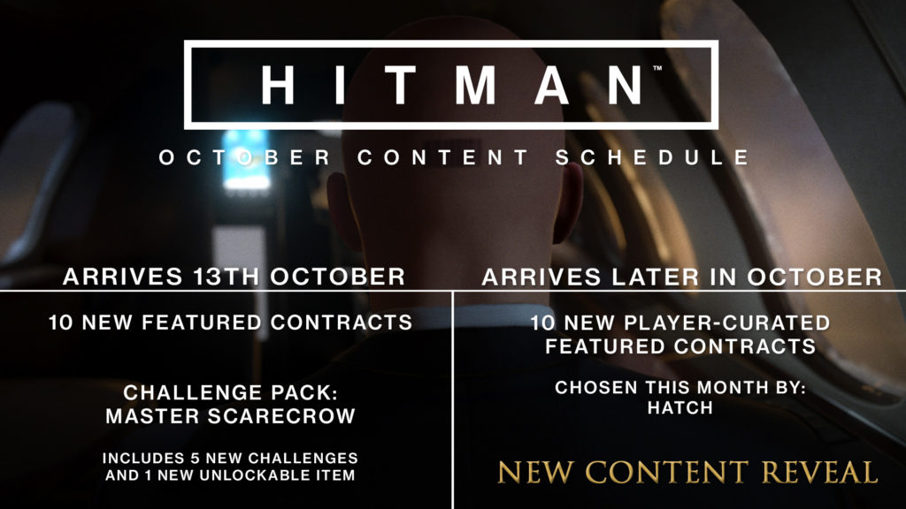 Hitman Zeitplan Oktober 2017