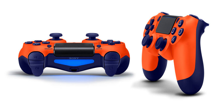PS4 Dualshock Sunset Orange_1