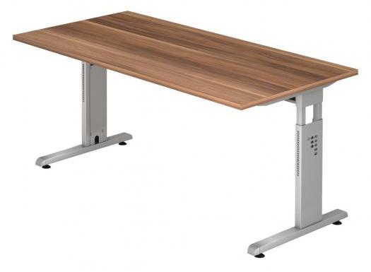 Der Schreibtisch O von Hammerbacher: Höhenverstellbar und für ein Büromöbel recht schick!