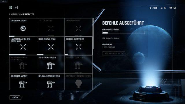 Aufträge in Star Wars Battlefront 2