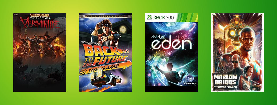 Xbox Games with Gold Dezember