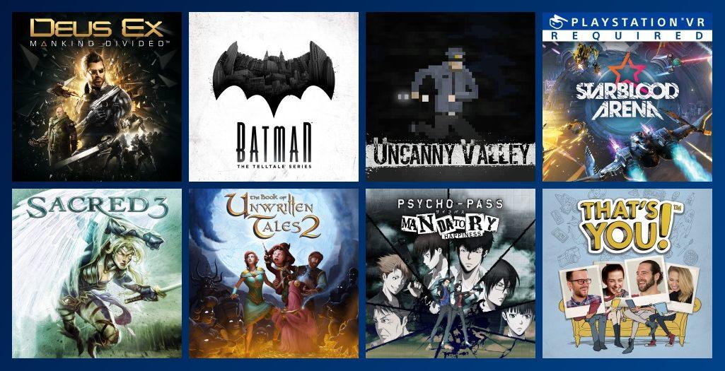 PS Plus Gratis Spiele Januar 2018