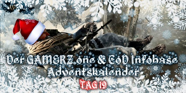 GAMERZ.one & CoDInfobase Adventskalender – TÜR 19