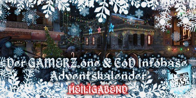 GAMERZ.one & CoDInfobase Adventskalender – Wir öffnen Tür 24 für euch!