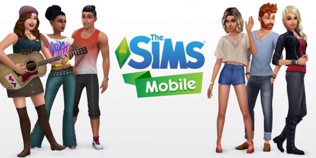 - Die Sims Mobile nun sind die Sims immer mit dabei!