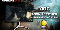 Im GAMERZ.one Tech-Check: AOC AGON AG352UCG – Größenwahn auf 35 Zoll!
