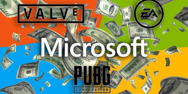 Microsoft – Übernahme von Valve, PUBG Corp. und EA geplant?