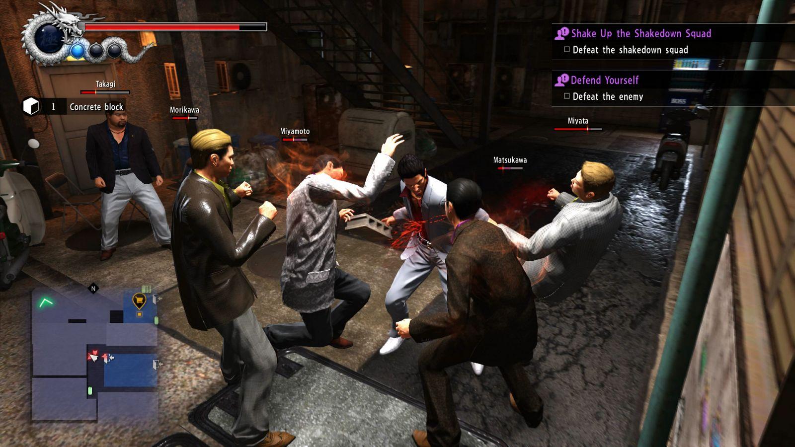 Yakuza 6 Combat
