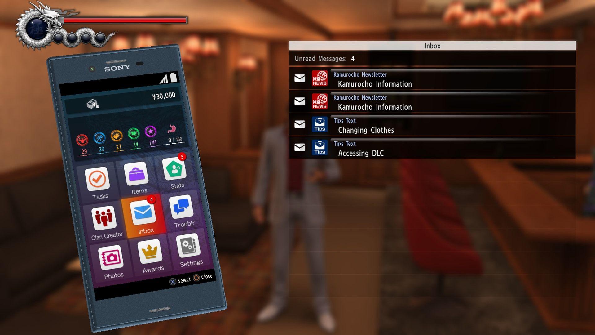 Yakuza 6 Smartphone