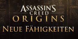 AC Origins - Neue Fähigkeiten