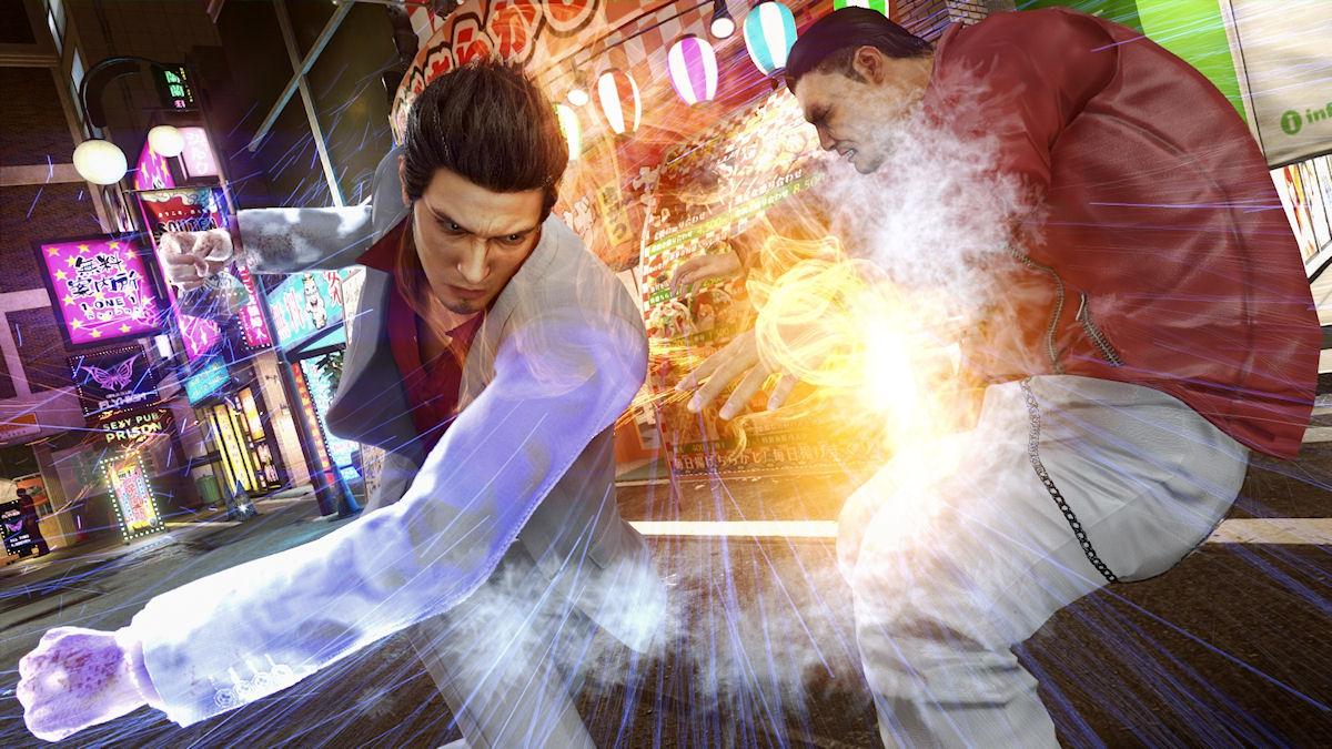 Yakuza Kiwami 2 Battle