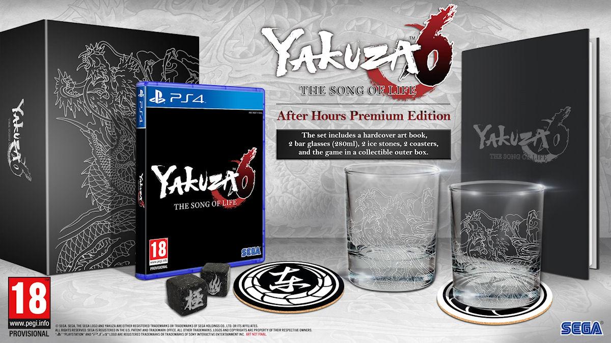 Yakuza 6 After Hours Premium Edition