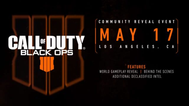 Call of Duty: Black Ops 4 Reveal