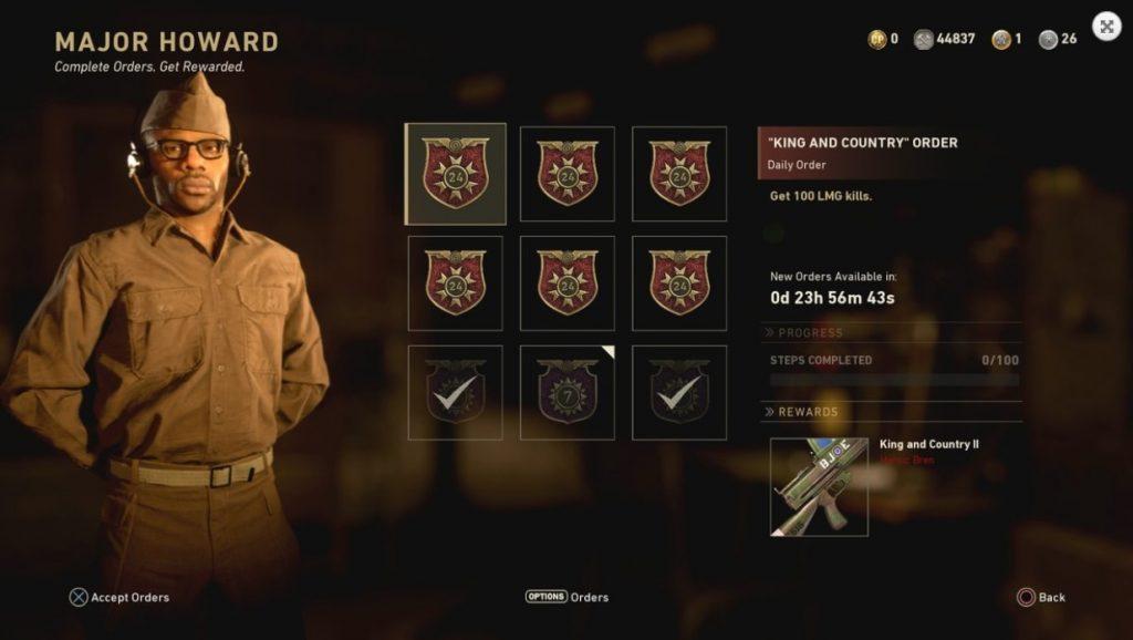 Call of Duty WWII Waffen Auftrag
