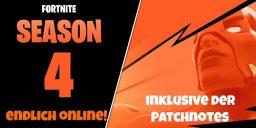 Fortnite - Season 4 ist online inklusive der Patchnotes