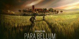 R6S - Ankündigung von Operation Para Bellum
