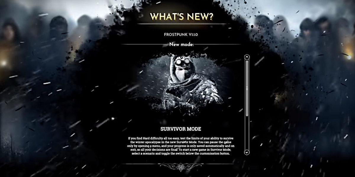Frostpunk Survivor Mode