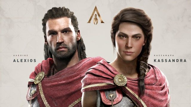 Assassins Creed Odyssey Alexios Kassandra