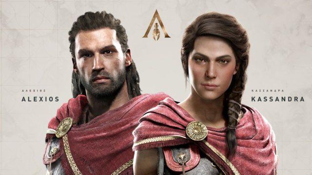 Assassins Creed Odyssey Alexios Kassandra