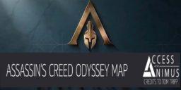 AC Odyssey - Übersicht aller Regionen