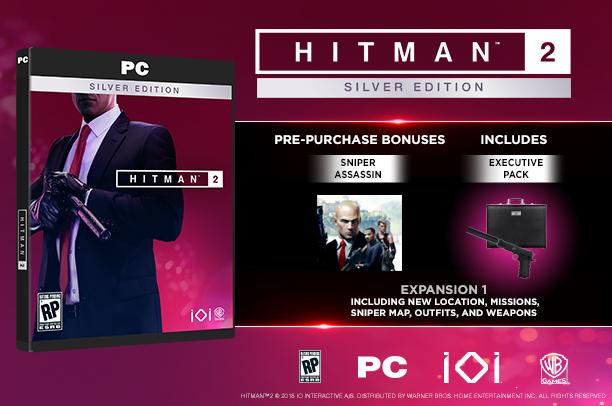 Hitman 2 Silver Edition