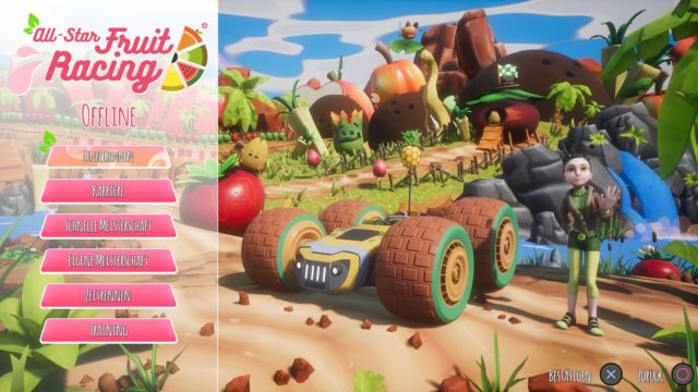 All-Star Fruit Racing Offline Modus