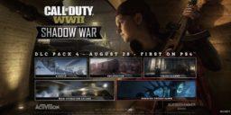 COD: WWII - DLC 4 Shadow War erhält Release Datum