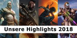Das waren die Highlights 2018 unserer Redakteure