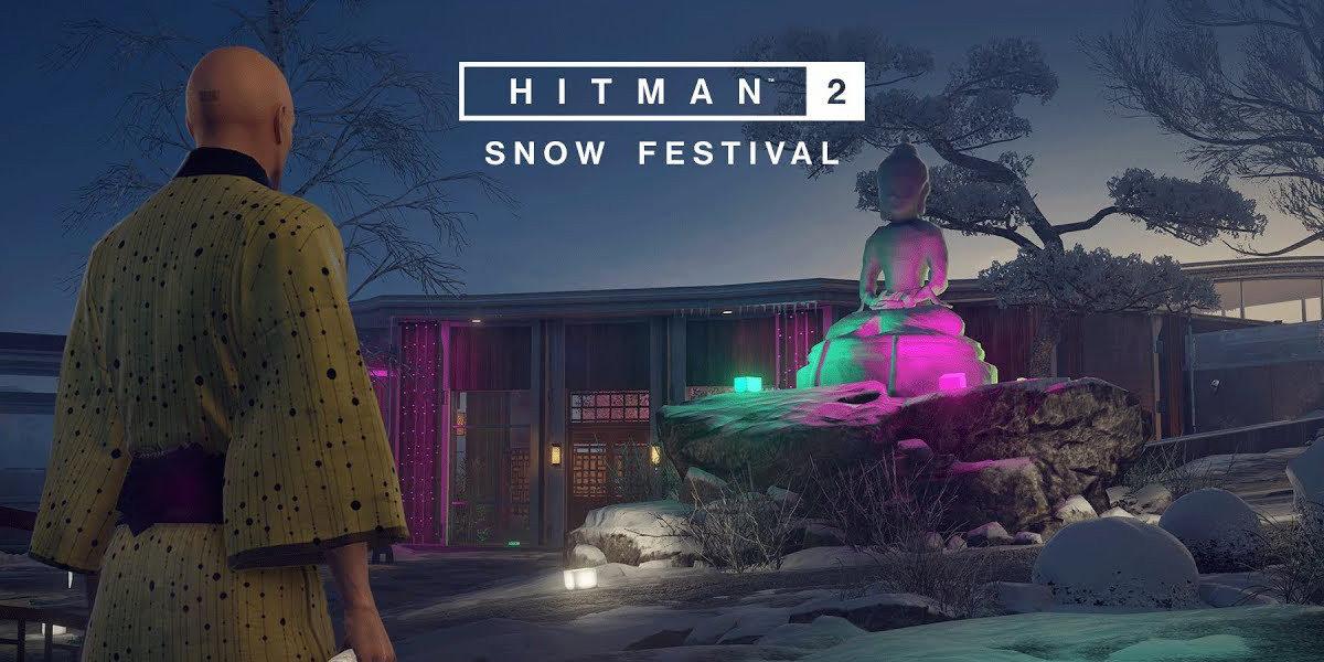 Hitman 2 Snow Festival