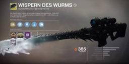 Destiny 2 - Wispern des Wurms – Quest bald häufiger zu starten?