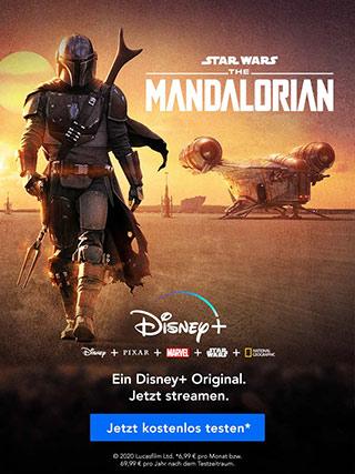 Disney+ - jetzt 7 Tage kostenlos testen!